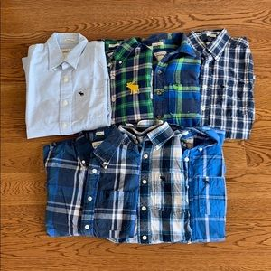 Pack of 7 Boys Abercrombie Shirts